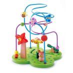 ●「おさんぽくまさん」木のおもちゃ コースター エドインター知育玩具 知育 おもちゃ 木製 木 ランキング おすすめ 人気  ルーピング 指先