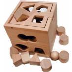 抗菌 パズルボックス日本製 河合楽器木のおもちゃ  木製 木 おもちゃ 知育玩具 知育トイ 知育おもちゃ かたはめ 型はめ 形合わせ ポスト