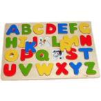 ABCパズルエドインター社 木のおもちゃ パズル 木製 木 おもちゃ 知育玩具 知育トイ 知育おもちゃ かたはめ 型はめ 形合わせ プレゼント 2