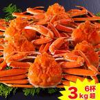 かに カニ 蟹 ズワイガニ ボイル| カナダ産ボイルずわい姿 3kg超(6杯)