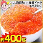 北海道加工 紅鮭イクラ(超小粒) 約500g(約250g×2パック)