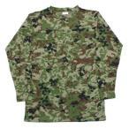 在庫販売 JME ヒートパワーTシャツ 長袖 (蓄熱 保温 吸汗 速乾) 陸自新迷彩とODあり