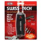 在庫販売 SWISS TECH スイステック XDrive マイクロラチェットツール7in1