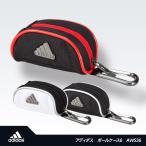 アディダス ゴルフ ボールケース6 adidas Golf AWS36(ボールポーチ ゴルフボール入れ)(ゴルフ用品 グッズ ギフト プレゼント)