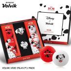 ボルビック VOLVIK Dalmatian Vivid  ダルメシアン ゴルフボールギフト(ゴルフボール6個・クリップマーカー)