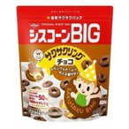 【セット販売】日清シスコ シスコーンBIG サクサクリングチョコ 165GX6個セット