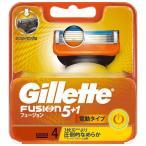 P&Gジャパン ジレット フュージョン5+1 パワー 替刃 4個 男性用カミソリ