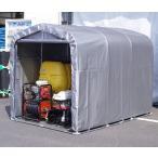 【送料込】【メーカー直送品】パイプ倉庫1坪 SN4-SVU 資材や農機具の格納庫やサイクルハウスに