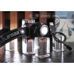 LEDLENSER 充電式LEDヘッドライト 220lm レッドレンザー SEO-7R ブラック 6007-RB