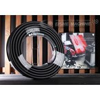 Yahoo!EHIME MACHINE[新商品] オカツネタイプ 9-6 高圧洗浄ホース(両端・金具・保護スプリング付) 9.5×20m テーパーメス