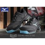 Yahoo!EHIME MACHINE[新商品] ミズノ 安全靴 F1GA190391 ブラック×ライトブルー×ブラック オールマイティ ES31L ワーキングシューズ