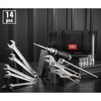 [新製品] KTC 9.5sq. ライダーズメンテナンスツールセット 14点 バイク工具セット MCK3140