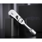 在庫有り NEPROS NBRC390FS 9.5sq.コンパクトショートフレックスラチェットハンドル ネプロス