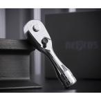 在庫有 [新製品] NEPROS ネプロス 9.5sq. コンパクトショートラチェットハンドル (特典付) NBRC390S