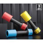 Yahoo!EHIME MACHINE[新商品] KTC TBP4903G 12.7sq. インパクトレンチ用ホイールガードソケットセット(ロング薄肉)
