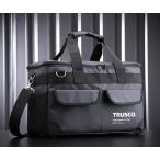 TRUSCO TOUGHターポリンツールバッグ ブラック TTBA-BK トラスコ