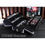 Yahoo!EHIME MACHINE[メーカー直送品][TONEセール2019] TONE TSAT330BK メカニック用 9.5sq. 74点ツールセット マットブラック 購入特典付き