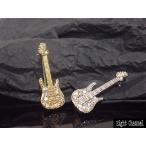 ブローチ ベースギター Bass シルバー ゴールド 4弦 ベーシスト Rock Punk Guitar バンギャ V系 ロック