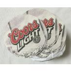 Coors LIGHT クアーズライト ペーパーコースター 10枚セット ビール アメリカン雑貨