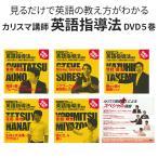 カリスマ講師による 英語指導法教材 DVD 5枚セット