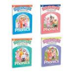 DVDでフォニックス 4巻セット 英語教材 松香フォニックス研究所 mpi 小学生 バイリンガル教育 子供用