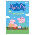 Peppa Pig Stories and Songs 〜Muddy Puddles みずたまり〜 DVD CD