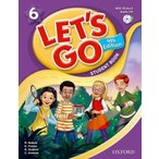 Let's Go 4th Edition 6 Student Book with Audio CD Pack