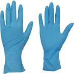 TRUSCO 使い捨てニトリル極薄手袋 粉なし ブルー M 100枚入 TGL-726NL-A 食品衛生法適合