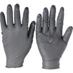 アンセル ニトリル手袋 タッチエヌタフ 粉なし ブラック Lサイズ 100枚入 93-250-9
