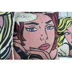 ポップアート 抱き枕 クッションカバー45cmx45cm
