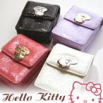 新作HELLO KITTYシガレットケース/さりげないラメ感が可愛い型押しリップケース( 新作キティちゃんたばこケース・サンリオキャラクタータバコ入れ
