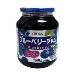 【送料無料】加藤産業 カンピー ブルーベリージャム 780g ×6個【イージャパンモール】