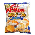 ★まとめ買い★ カルビー ピザポテト濃厚チーズ味 60g ×12個【イージャパンモール】