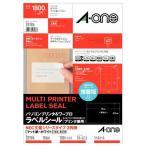 エーワン パソコンプリンタ&ワープロラベルシール マット紙ホワイト A4 NECタイプ18面70x42.3mm1冊(100シート)