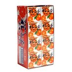 【送料無料】★まとめ買い★ 丸川製菓 オレンジマーブルガム4粒 ×24個【イージャパンモール】