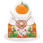 【鏡餅】サトウ 福餅入り鏡餅 小飾り 迎春橙 66g ×30個【イージャパンモール】