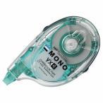 トンボ鉛筆 修正テープ モノYX4 本体 4.2mm幅×12m 緑 1個