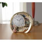 【送料無料】リズム 置時計(アラーム付) 4SE504SR18【代引不可】【ギフト館】