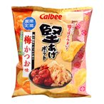 カルビー 堅あげポテト梅かつお味60g【イージャパンモール】