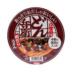 日清 あっさりおだしがおいしいどん兵衛4種の具材肉だしうどん72g【イージャパンモール】