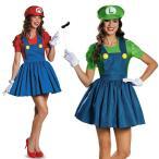 ショッピングハロウィン ハロウィン コスプレ スーパーマリオ風 マリオ風 Luigi Mario スカート セット ゲームコス レディース 大人 変装 仮装