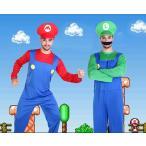 ショッピングハロウィン ハロウィン コスプレ スーパーマリオ風 マリオ風 Luigi Mario ゲームコス おもしろコスプレメンズ 大人 変装 イベント 学園祭