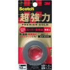 3M スリーエム スコッチ 超強力両面テープ プレミアゴールド [スーパー多用途] 粗面用 KPR-12 メール便対応(6個まで)