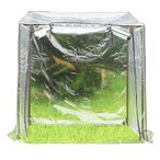 JoyGarden フラワースタンド用 ビニール温室 96×71×110cm BDZ00401(ガーデンハウス ビニールハウス グリーンハウス 菜園ハウス ガーデングラック)