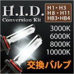 HIDバルブ H1 H3 H8 H11 HB3(9005),HB4(9006)