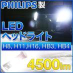 PHILIPS LED ヘッドライト H8 H11 H16 HB3 HB4 12V/24V