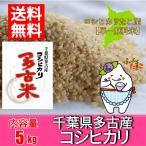 千葉県産多古米コシヒカリ 玄米 5kg 28年産/簡易包装(空き箱)
