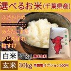 玄米 30kg 選べる お米 千葉県産 送料無料 安い 白米 ふさおとめ あきたこまち ふさこがね