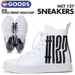 �ڼ���ʡۡ� NCT127 & SCB Typo print high-top sneakers �� NCT127 �� SUPERCOMMA B �������� ���ˡ����� �ڹ�ե��å����