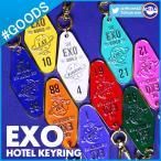 【1次予約】【 EXO Welcome to EXO World ! HOTEL KEYRING 】 エクソ ホテルキーリング SMTOWN SUM 公式グッズ